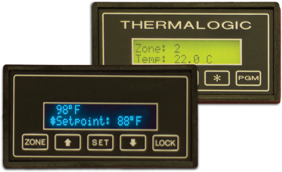 2 Digitherm products by Thermalogic