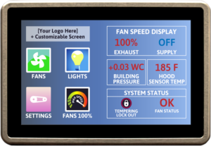 Digitherm Touchscreen example